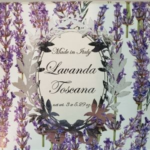 Lavender Soaps Made In Italy Artisan
